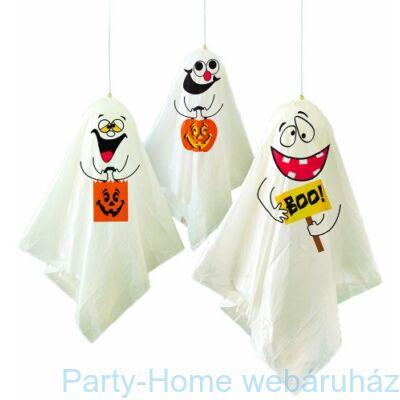 Bolondos Szellemek függő dekoráció Halloweenre