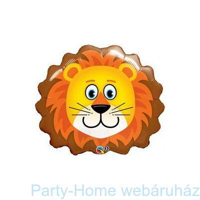Oroszlán Fej Lovable Lion Fólia Lufi