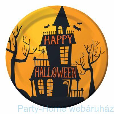 Happy Halloween parti tányér