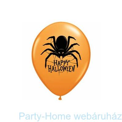 Pók Mintás Halloween Spider Lufi