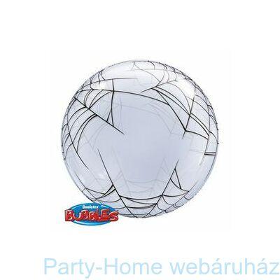 Pókháló Spider's Web Deco Bubble Lufi