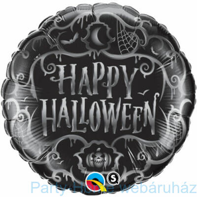 Halloween Goth Scroll Fólia Lufi
