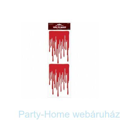 Csöpögő Vér Szilikon Dekoráció