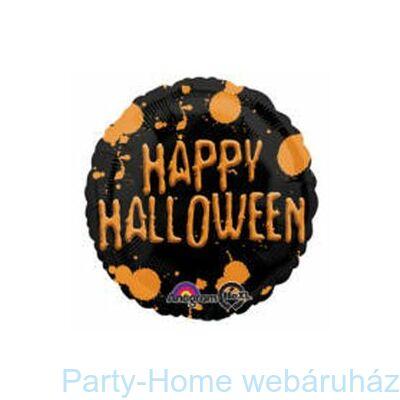 Happy Halloween Splatter Fólia Lufi