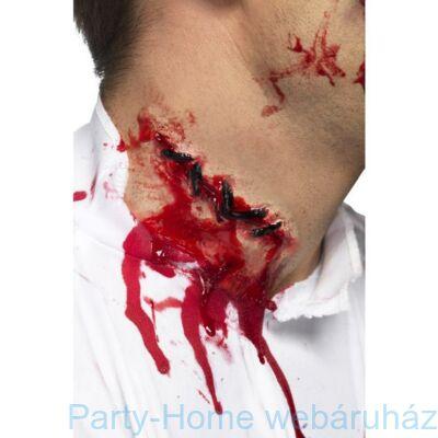 Véres-összevarrt Latex Sebhely