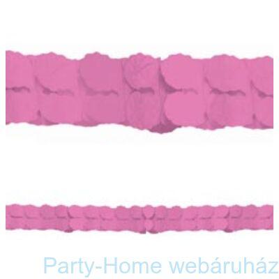 Rózsaszín Papír Füzér