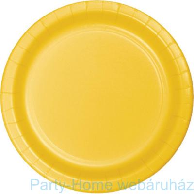 Tányér sárga
