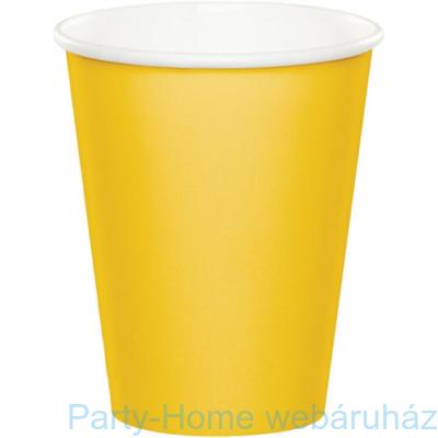 Pohár sárga