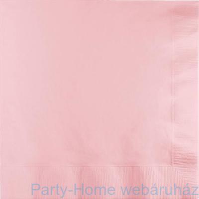 Szalvéta rózsaszín