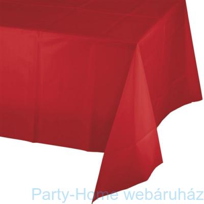 Asztalterítő piros