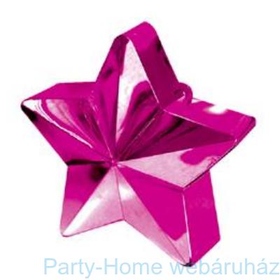 c10bbe2e240 Magenta Rózsaszín Csillag Léggömbsúly - 170 gramm