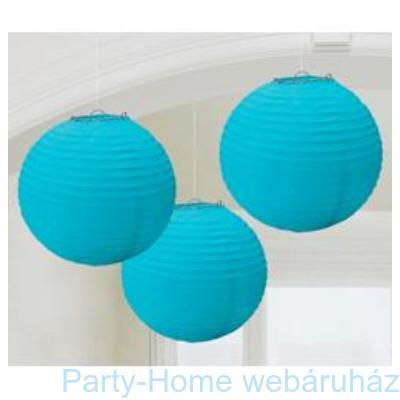 Kék Színű Parti Gömb Lampion