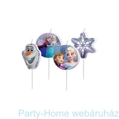 Frozen Jégvarázs Parti Gyertya Szett