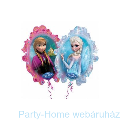Frozen Jégvarázs Super Shape Fólia Lufi