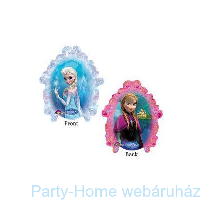 Jégvarázs Frozen Mini Shape Fólia Lufi