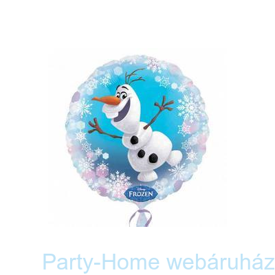 Jégvarázs Frozen Olaf Fólia Lufi