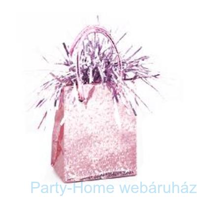 Pasztell Rózsaszín Prismatic Mini Ajándéktasak Léggömbsúly