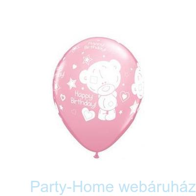 Tiny Tatty Birthday Pink Szülinapi Lufi