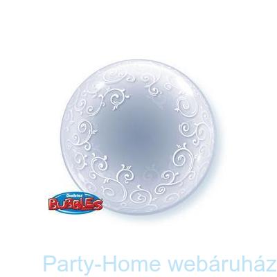 Fancy Filigree Inda Mintás Deco Bubble Lufi