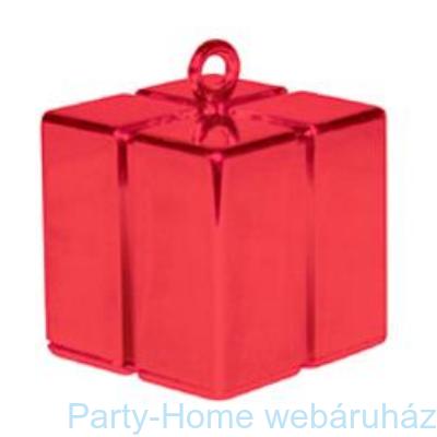 Piros Ajándékdoboz Léggömbsúly