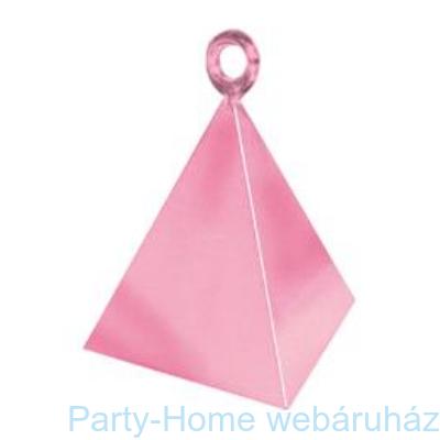 Gyöngyház Rózsaszín Piramis Léggömbsúly