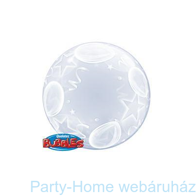 Balloon and Stars Deco Bubble Lufi