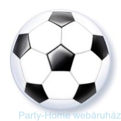Foci Labda Mintás Soccer Ball Bubble Lufi