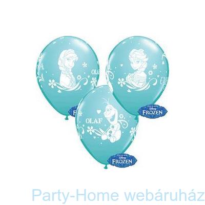 Jégvarázs Frozen Anna, Elsa, Olaf Carribean Blue Lufi