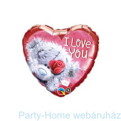 Tatty Teddy I Love You Szerelmes Fólia Lufi
