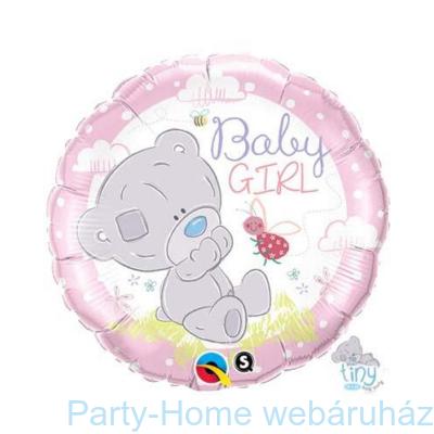 Tiny Tatty Teddy Baby Girl Fólia Lufi