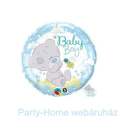 Tiny Tatty Teddy Baby Boy Fólia Lufi