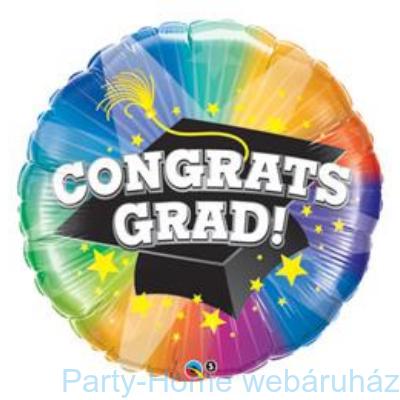 Congrats Grad! Spotlight Ballagási Fólia Lufi