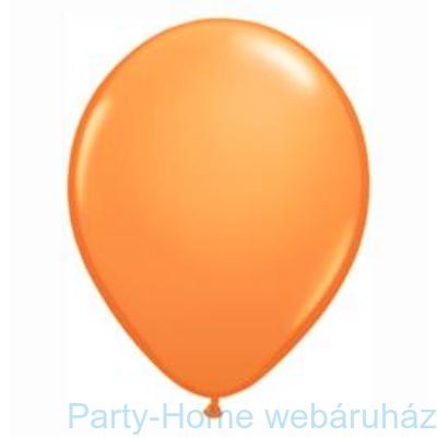 Orange Kerek Lufi