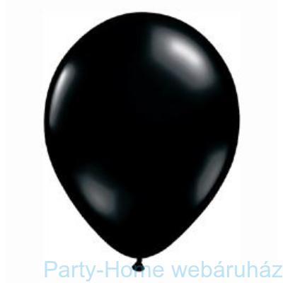 Onyx Black Kerek Lufi