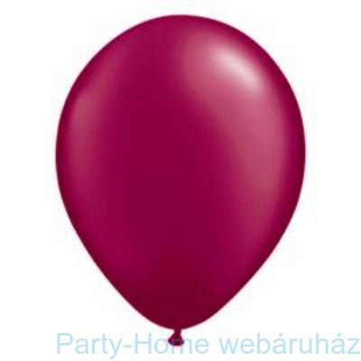 Pearl Burgundy Kerek Lufi