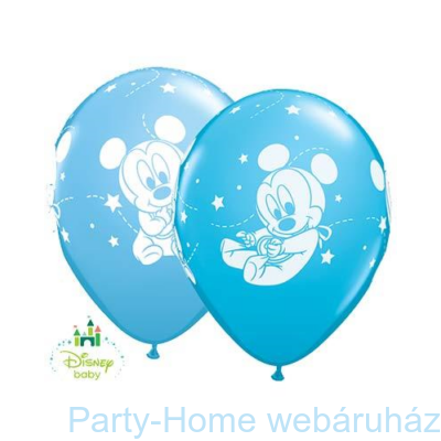 Baby Mickey Stars Pale Blue & Robins Egg Blue Lufi
