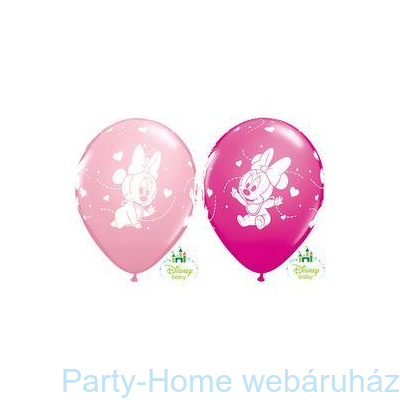 Baby Minnie Hearts Pink & Berry Lufi