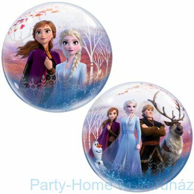 22 inch-es Disney Frozen 2 - Jégvarázs 2 Bubble Lufi