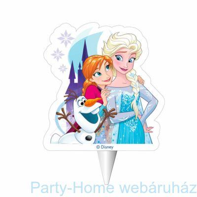 Frozen - Jégvarázs Anna, Olaf és Elsa Gyertya