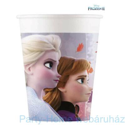 Frozen 2 - Jégvarázs 2 Papír Parti Pohár - 8 db-os, 200 ml