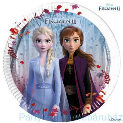 Frozen 2 - Jégvarázs 2 Papír Parti Tányér - 20 cm, 8 db-os