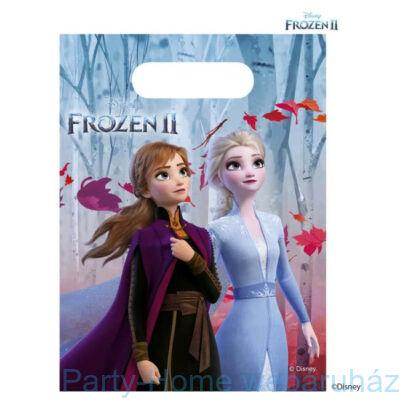 Frozen 2 - Jégvarázs 2 Parti Ajándékzacskó - 6 db-os