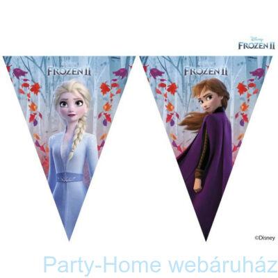 Frozen 2 - Jégvarázs 2 Parti Zászlófüzér 2,3 méter