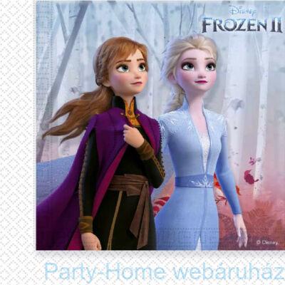 Frozen 2 - Jégvarázs 2 Szalvéta 33 cm x 33 cm - 20 db-os