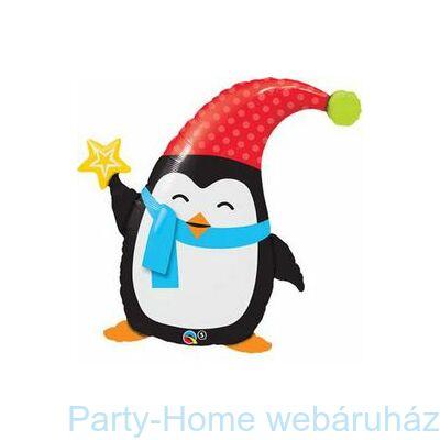 3Popular Elfin Pingvin Karácsonyi Fólia Léggömb