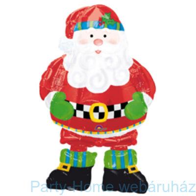 Whimsical Santa Sétáló Télapós Fólia Lufi