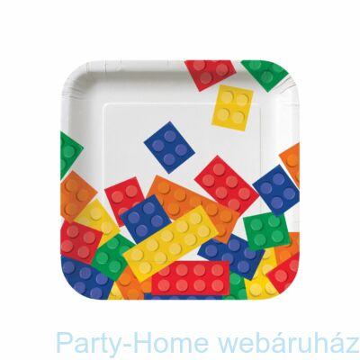Lego Party Lego Mintás Parti Tányér