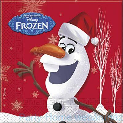 Frozen Olaf Christhmas Jégvarázs Olaf Karácsonyi Parti Szalvéta