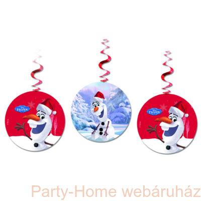 Frozen Olaf Christhmas Jégvarázs Olaf Karácsonyi Függő Dekoráció