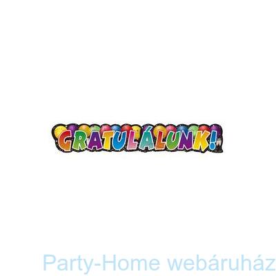 Gratulálunk Feliratú Parti Banner
